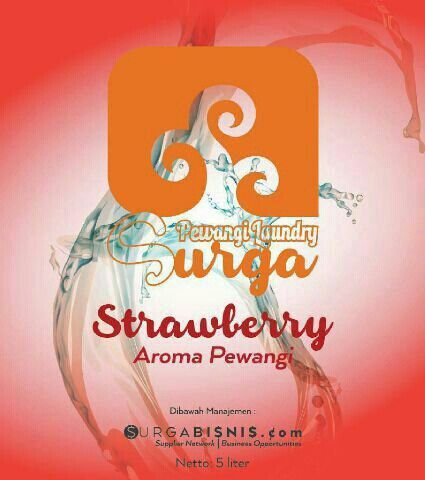 Surga Pewangi Laundry ( aroma Strawberry )