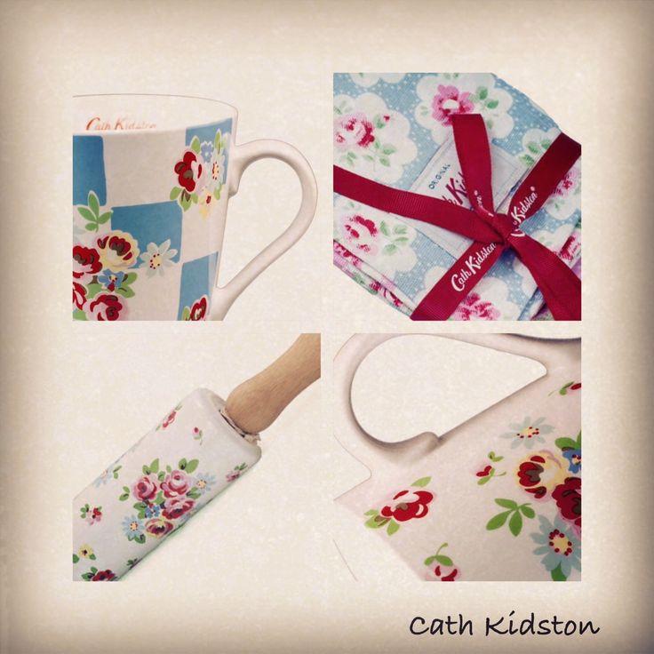 Oryginalne produkty Cath Kidston - #porcelanowywalek #kubek #ściereczki, wszytsko w angielskim stylu