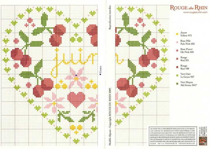 June Cross Stitch Pattern