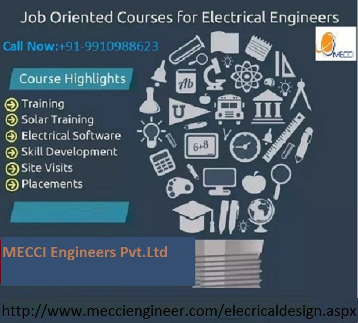 you are looking electrical design course in noida here is a