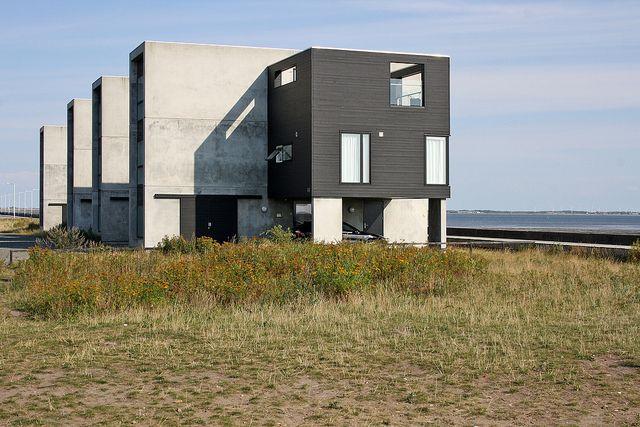 Floating cube houses Havneby Rømø island Denmark | Flickr - Photo Sharing!