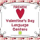 French Valentine's Day Language Centers - sorting, matching, building sentences  Valentine's Day is near and kids just love it! Use their enthusias...