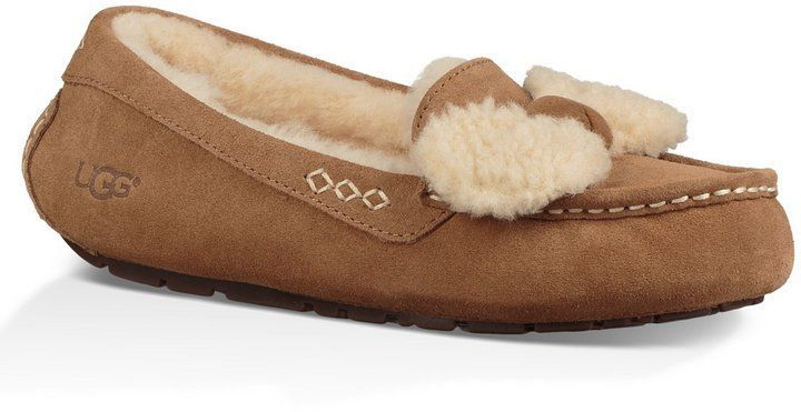 6c096988e32 UGG Ansley Fur Bow Slippers