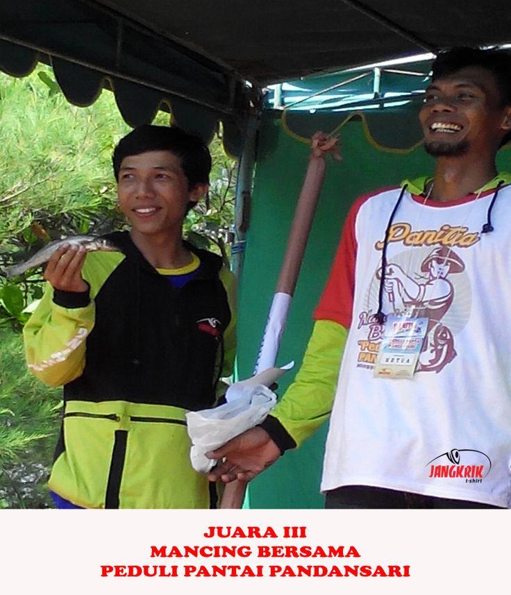 Juara 3 Mancing Bersama, Peduli Pantai Pandansar