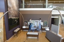 Education in Zion exhibit at BYU (Joseph F. Smith Building)