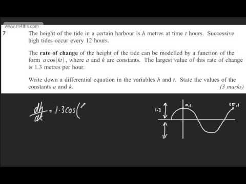 q7 AQA Core 4 C4 June 2013 quick answers - A2 maths A Level Maths - Past paper exam OCR