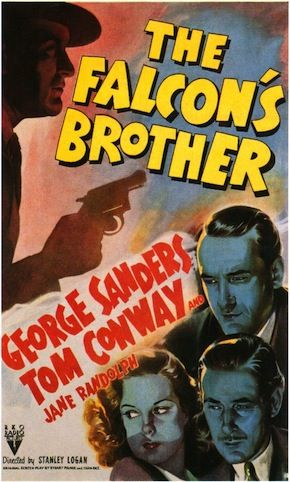THE FALCON'S BROTHER starring George Sanders and Tom Conway http://en.wikipedia.org/wiki/The_Falcon's_Brother