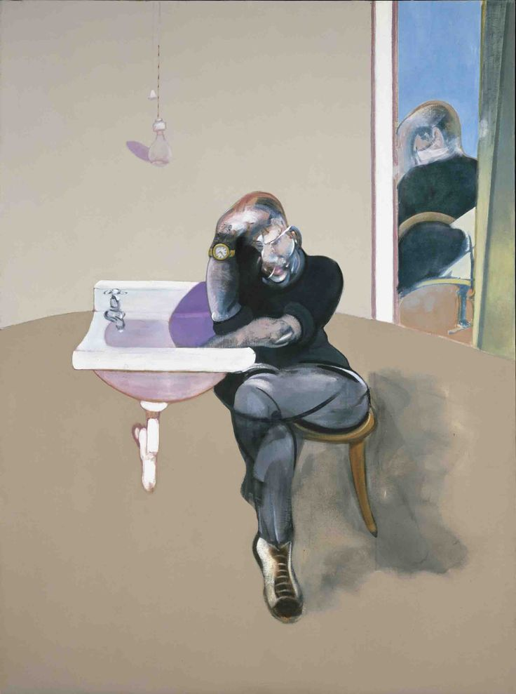 Francis Bacon, Self Portrait, 1973