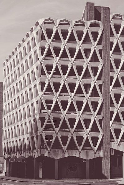 Lesser known buildings: Welbeck Street Car Park, 2013