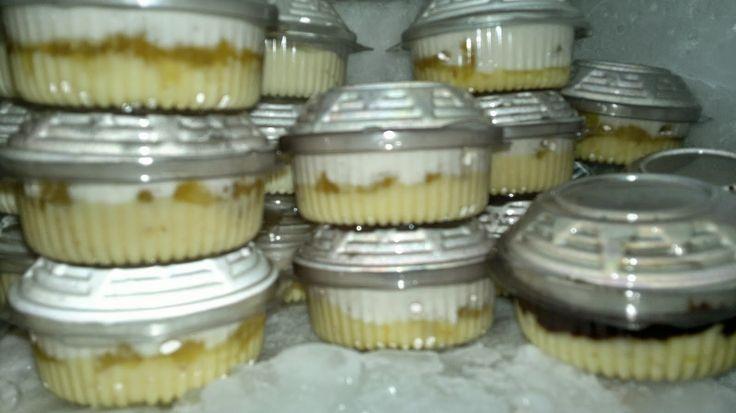 Creme de Abacaxi para vender em porções ou rechear bolo no pote   Creative