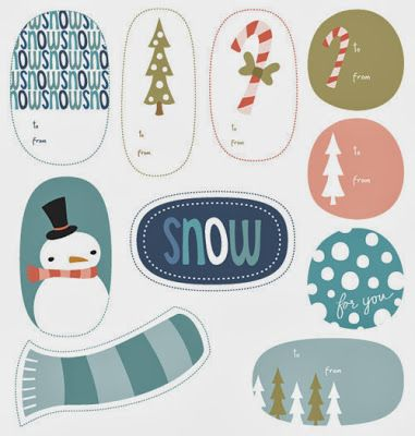 drive thirty-three: holiday wrappings-i find all the cool holiday printable gift tags and bring them to you. you're welcome :)