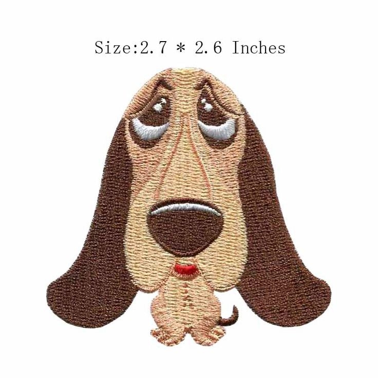 """2.7""""wide Lap dog embroidery patch  embroidered patches motorcycles/attack on titan/embroidered patches for sale #Affiliate"""