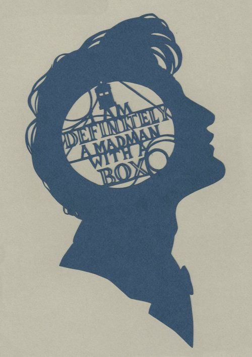 .: Madman, The Tardis, The Doctors, Doctorwho, Paper Art, Doctors Who, Dr. Who, 11Th Doctors, Mad Man