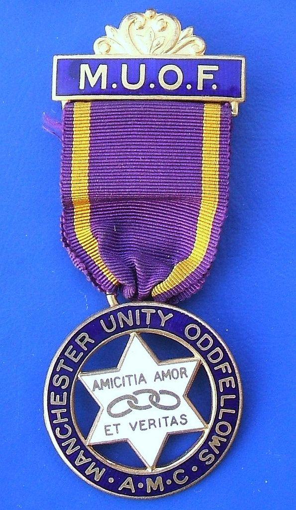 Manchester Unity of Odd Fellows - AMC Award Medal (1964)