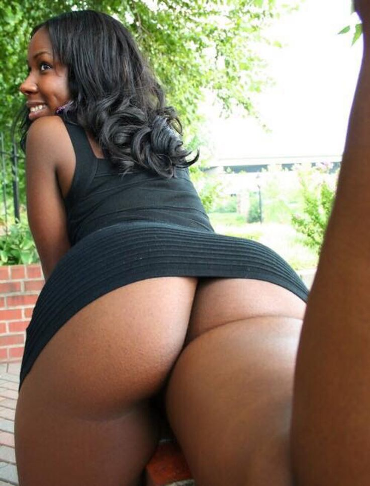 Thick women showing ass and pussy