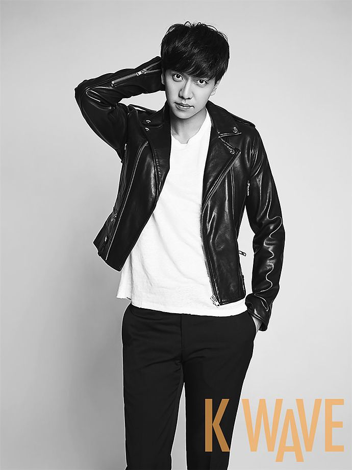 Cover Boy Lee Seung Gi Does Black & White For KWAVE's June 2015 Issue | Couch Kimchi