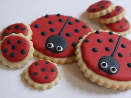 ladybird biscuits