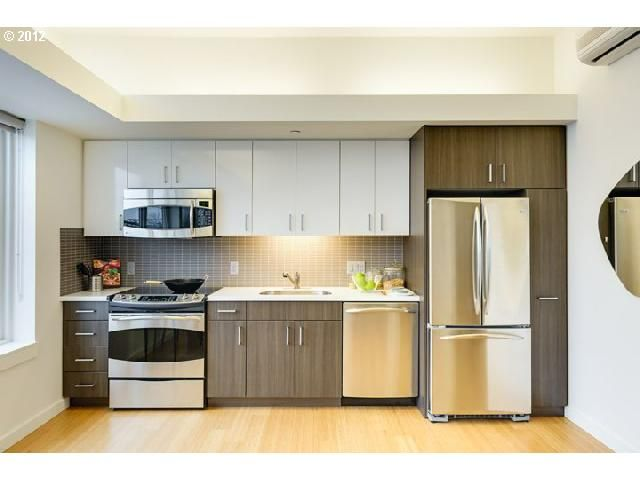 small space kitchen idea from condo in portland or - Condo Kitchen Ideas