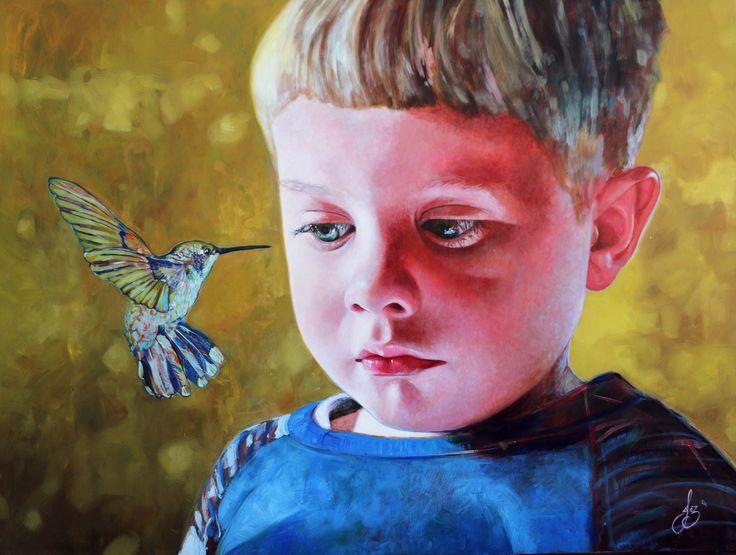 Jasmine Middlebrook - If I say so (2014) acrylic on board - http://nzartsite.com/exhibitions/jasmine-middlebrook