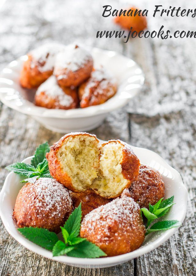 Banana fritters - perfect for when you need to satisfy a sweet craving. Sweet and delicious. Yummy to the very last bite.