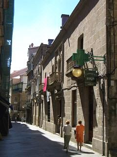Orense Spain - The old streets