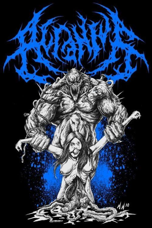 Attila Warped Tour  Merch
