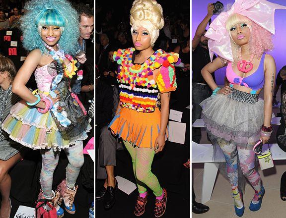 Nicki Minaj Wraps Up Fashion Week In Nyc Fashion Weeks