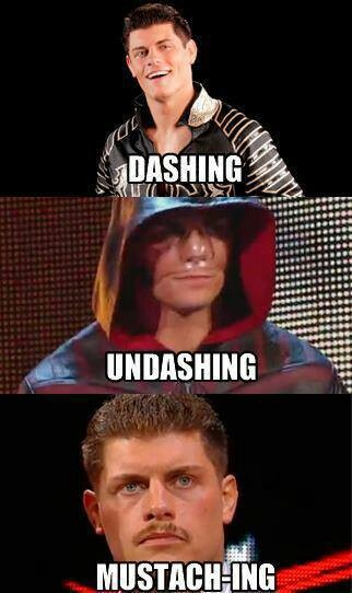 "Cody Rhodes, so much ""Shing"""