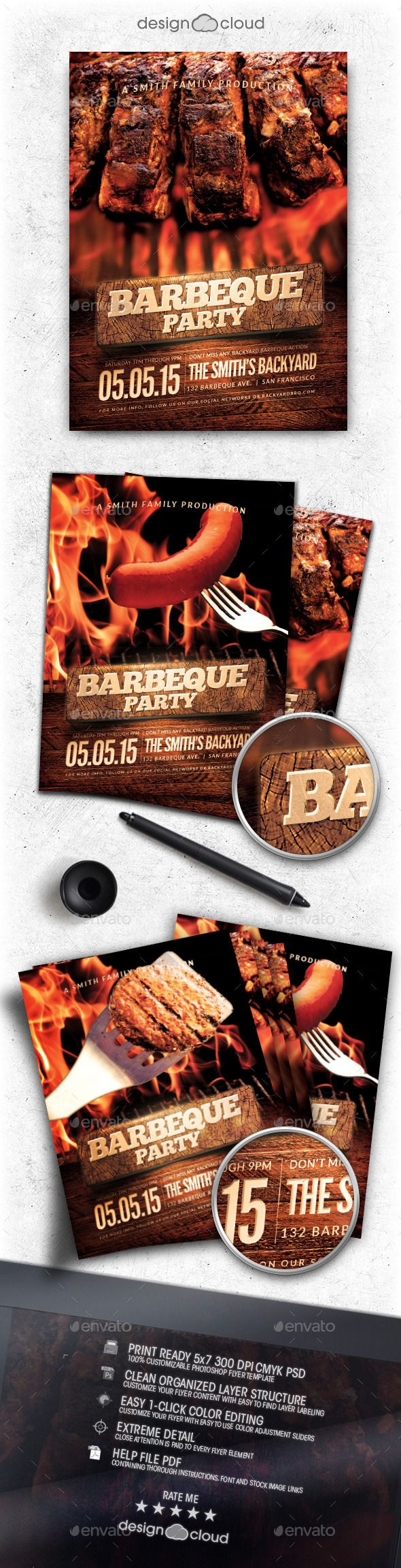 best images about flyer dj party psd flyer bbq party flyer template