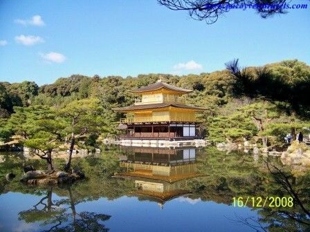 Templo Dorado en Kyoto
