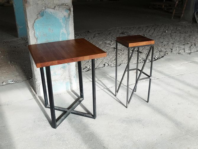 "Chair and table ""Ogon"" | стул и стол ""Огонь"" - Ashot Karapetian Architect | Ашот Карапетян Архитектор ashotkarapetian.com"
