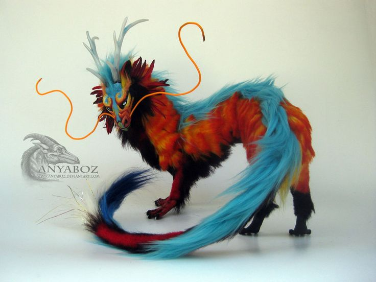 Majestic Koi Dragon Room Guardian by AnyaBoz on DeviantArt