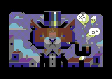 The Game is Apaw! PETSCII by iLKke