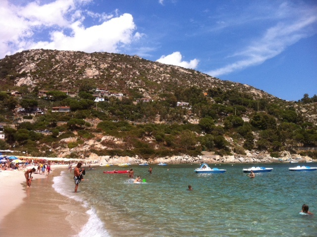 The beach at Elba #Italy