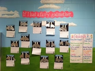 great writing activity and craft for fairy tales study!