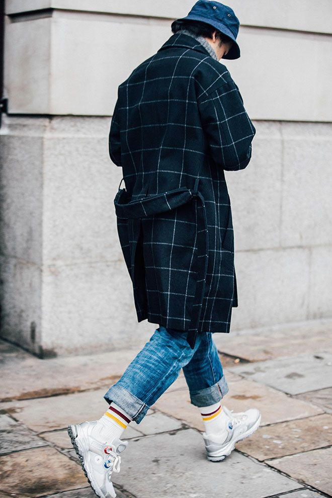 Fashion Week homme Street looks Londres automne hiver 2016 2017 70