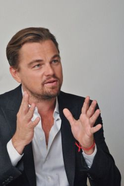 Leonardo DiCaprio (The Revenant's Press-Conference)