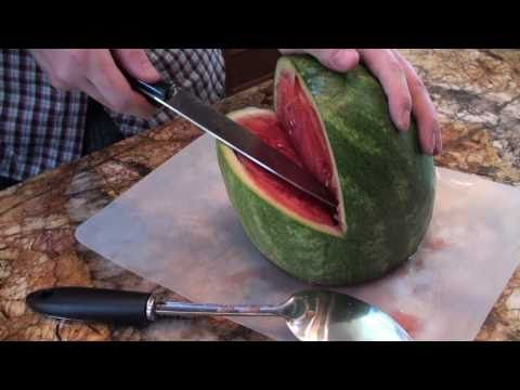 Shark or hedge hog watermelon