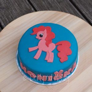 My little pony - Pinky pie - na dortu
