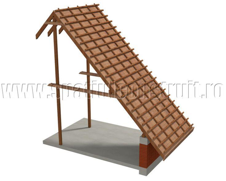 Slanted roofs shapes u0026 sizes/ Acoperisuri cu panta forme si dimensiuni u003eu003e  sc 1 st  Pinterest & Best 25+ Roof shapes ideas on Pinterest | House roof Flat roof ... memphite.com