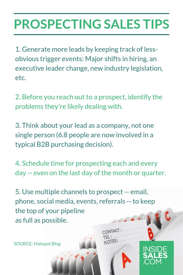 9 Effective Sales Prospecting Tips To Close More Deals With