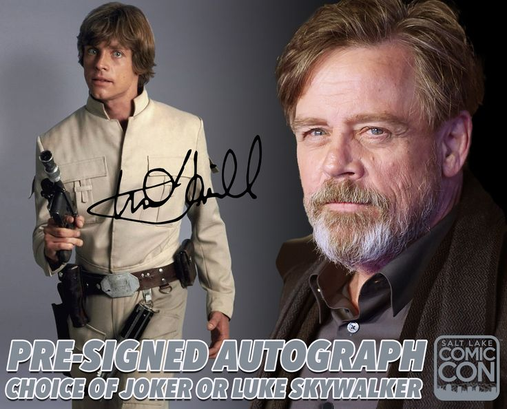 *PIN to WIN* We've released a limited amount of pre-signed Mark Hamill…