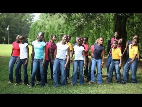 """Love is all you Need!""  Joyful, talented children from around the world making music and ""Playing for Change.""  African Children's Choir.  See www.PlayingForChange.com"