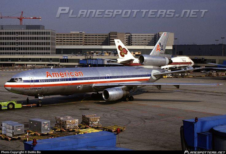 N144AA American Airlines McDonnell Douglas DC-10-30 photographed at Frankfurt - Rhein-Main International (FRA / EDDF) by DeMo Bo