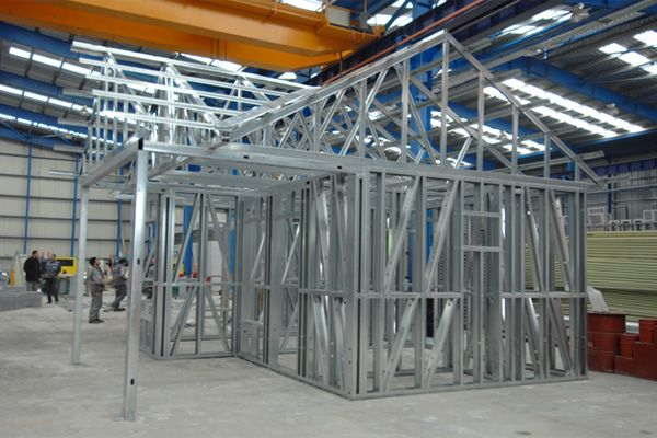 Maisons en kit modulaire ossature metallique BAUHU