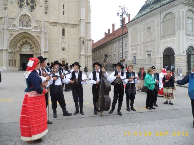 Musicians in Traditional Dress, Zagreb