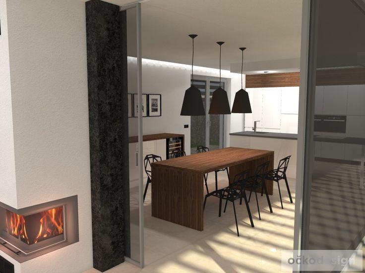 moderní obývací pokoj, designové kuchyně, bytový designer