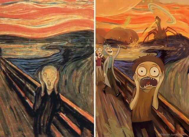 """1. """"O Grito"""", de Edvard Munch"""