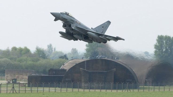 Sending RAF Typhoons to the Baltic region