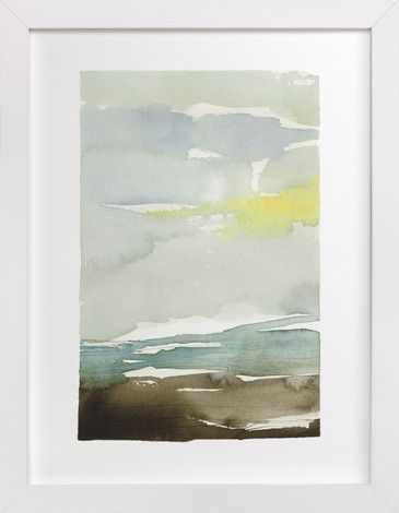 Sunset fade no 1 painting limited edition art print by kelly ventura